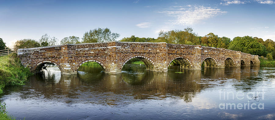 White Mill Bridge In Dorset Photograph  - White Mill Bridge In Dorset Fine Art Print