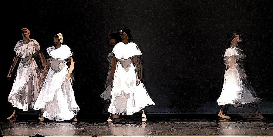 White Rain Photograph