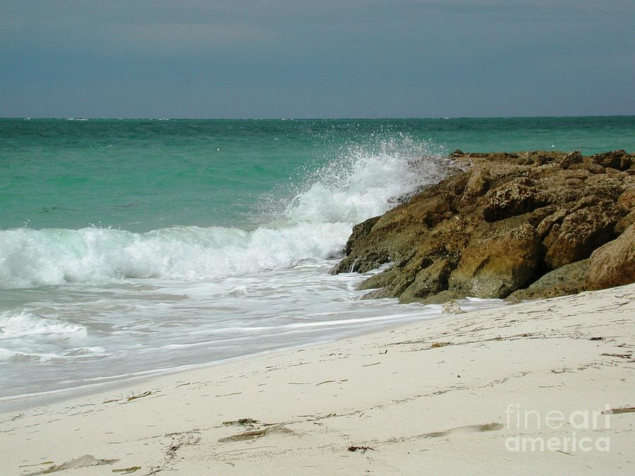 Water Photograph - White Sands by Judy Palkimas