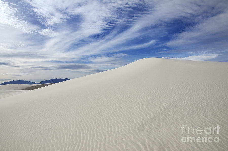 White Sands National Monument Big Dune Photograph