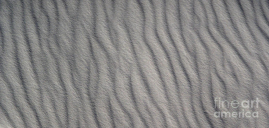 White Sands New Mexico Abstraction Photograph  - White Sands New Mexico Abstraction Fine Art Print