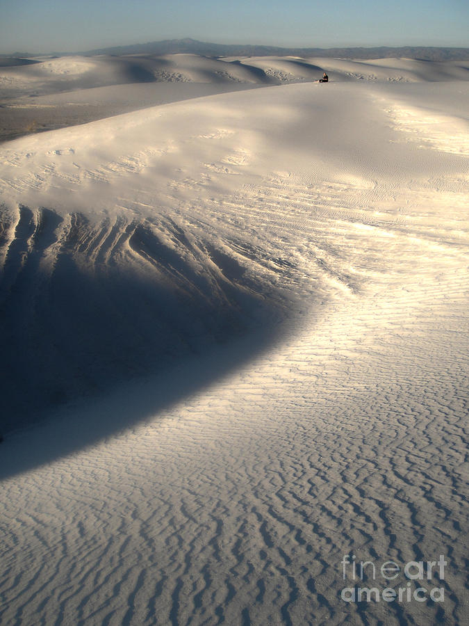 White Sands New Mexico Sand Dunes Photograph