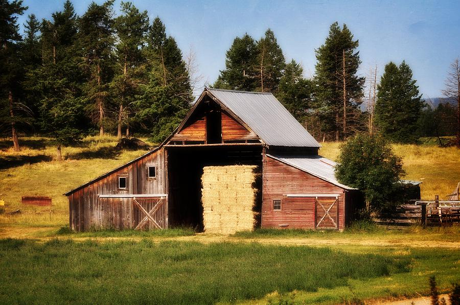 Whitefish Barn Photograph  - Whitefish Barn Fine Art Print