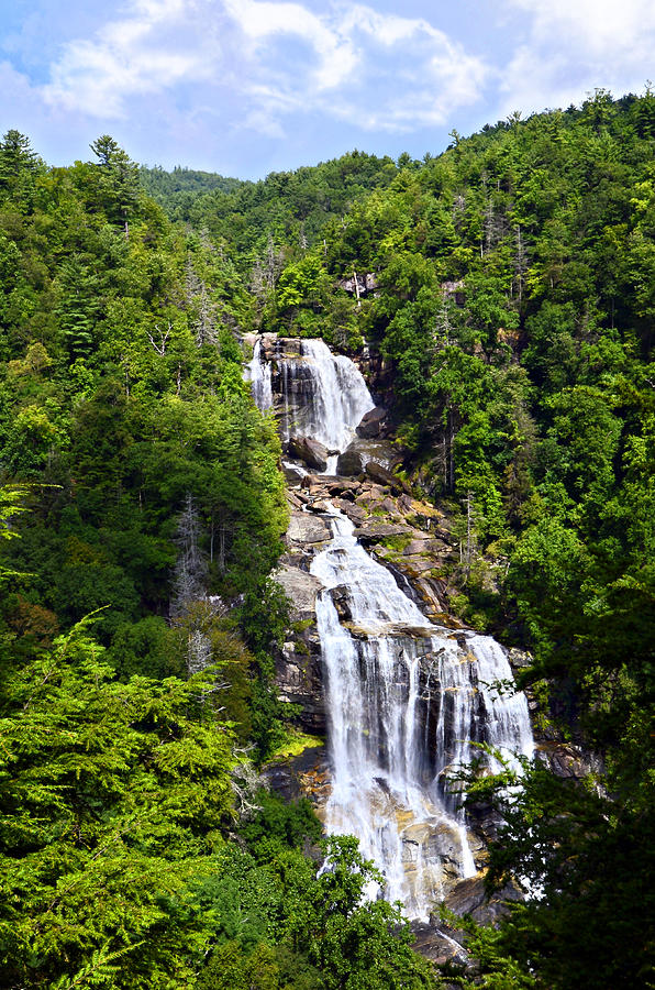 Water Photograph - Whitewater Falls by Susan Leggett