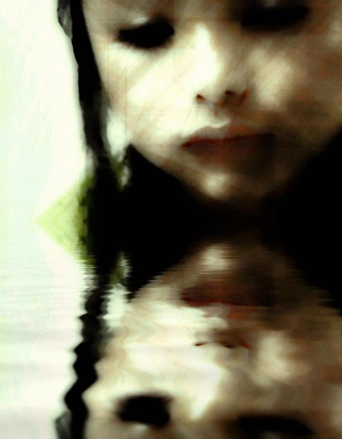 Child Digital Art - Who Am I by Gun Legler