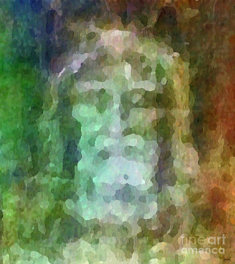 Who Do Men Say That I Am - The Shroud Digital Art  - Who Do Men Say That I Am - The Shroud Fine Art Print