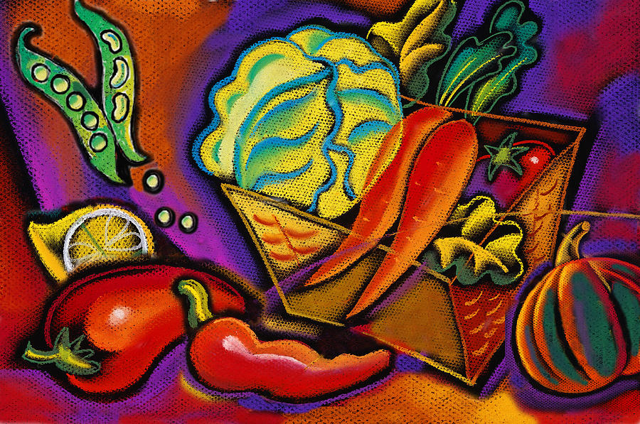 Very Healthy For You Painting By Leon Zernitsky