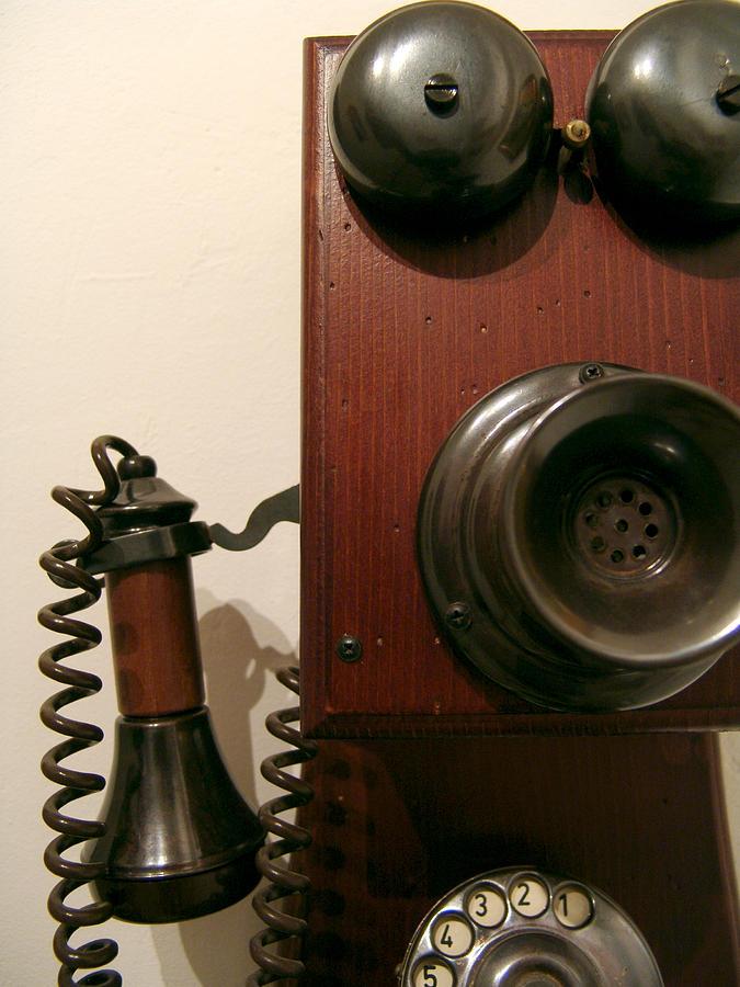 Telephone Photograph - Whos Calling... by Alessandro Della Pietra