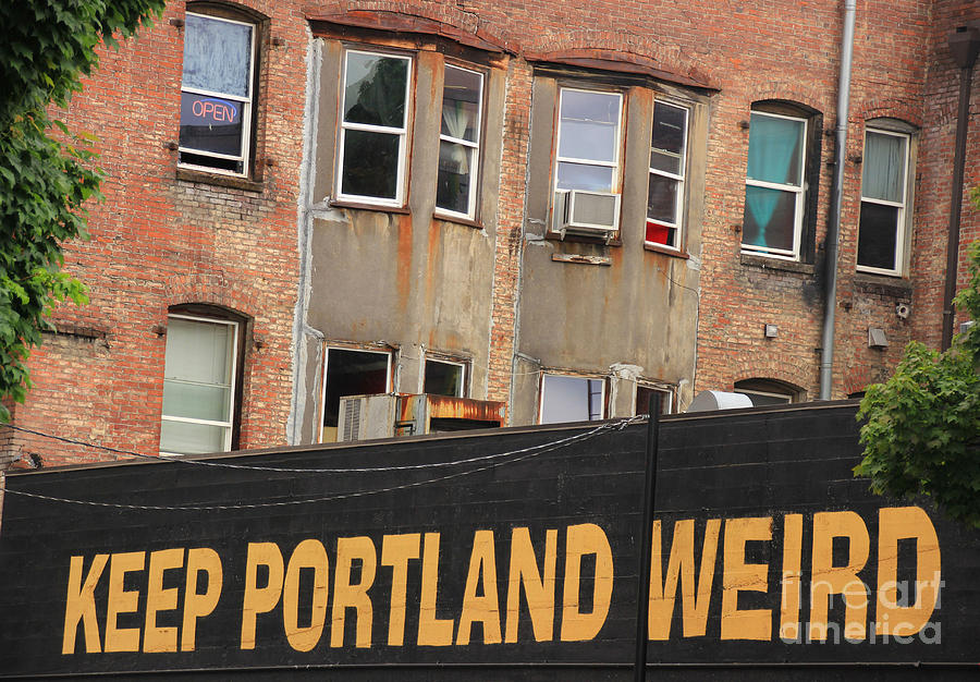 Weird And Wonderful Portland Photograph