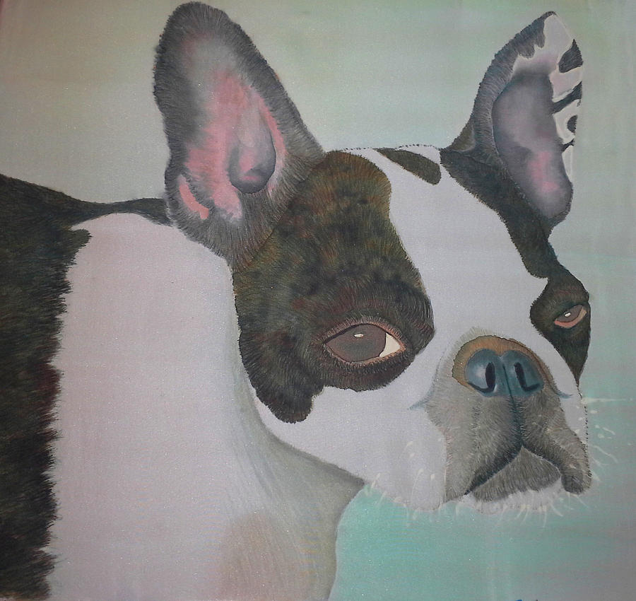 Wiggy The French Bulldog Painting