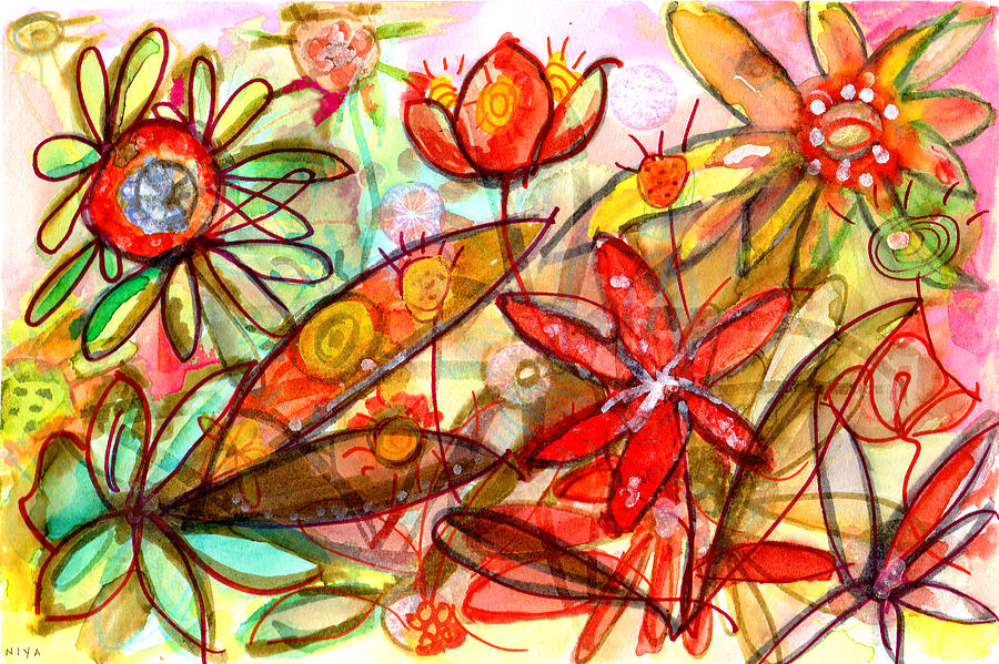 Wild Flowers Series #1 Painting