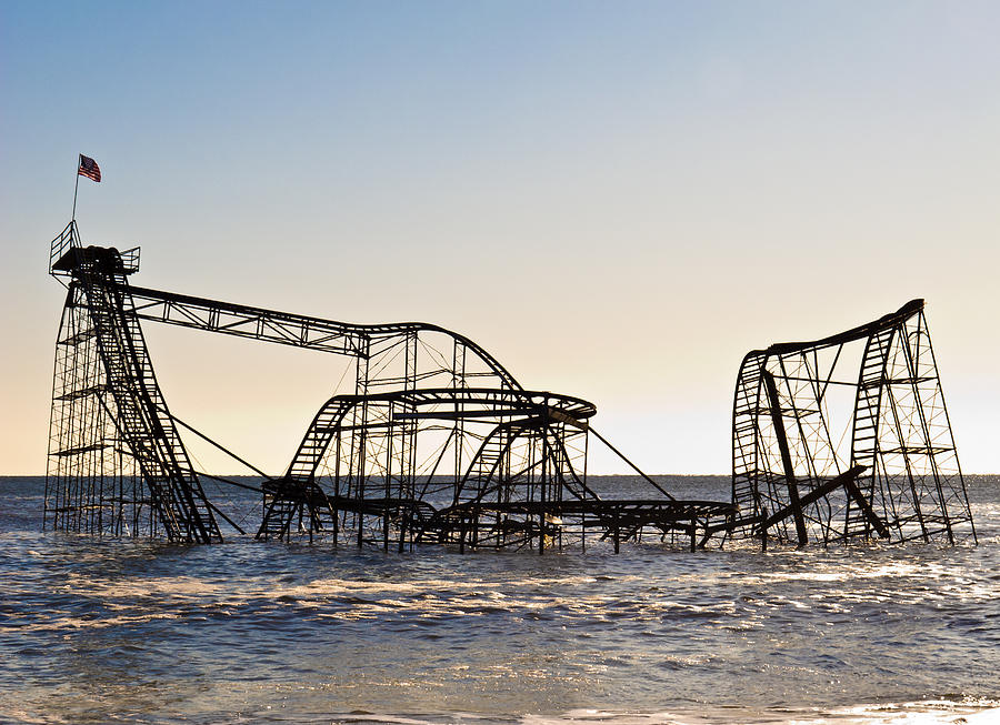 Hurricane Sandy Photographs Photographs Photograph - Wild Ride by Michael Attanasio