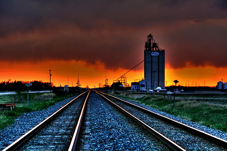 Canada Photograph - Wild Sky by Larry Trupp