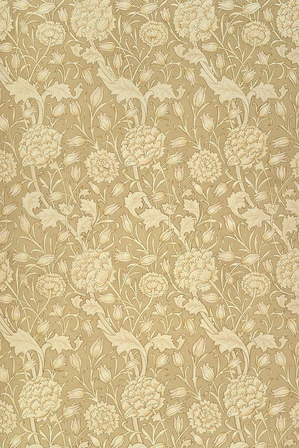 Wild Tulip Wallpaper Design Tapestry - Textile