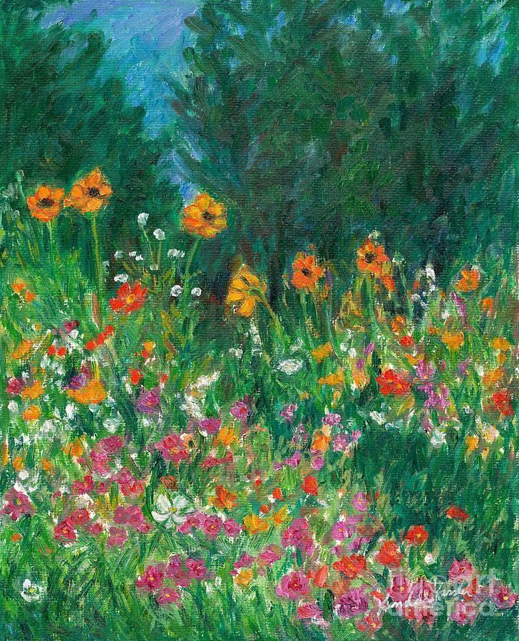 Wildflower Rush Painting