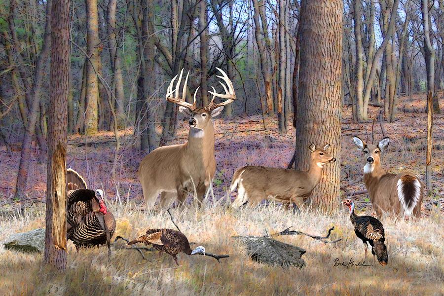 deer art painting artwork print north american wildlife art whitetail deer hunting monster buck heartthrob