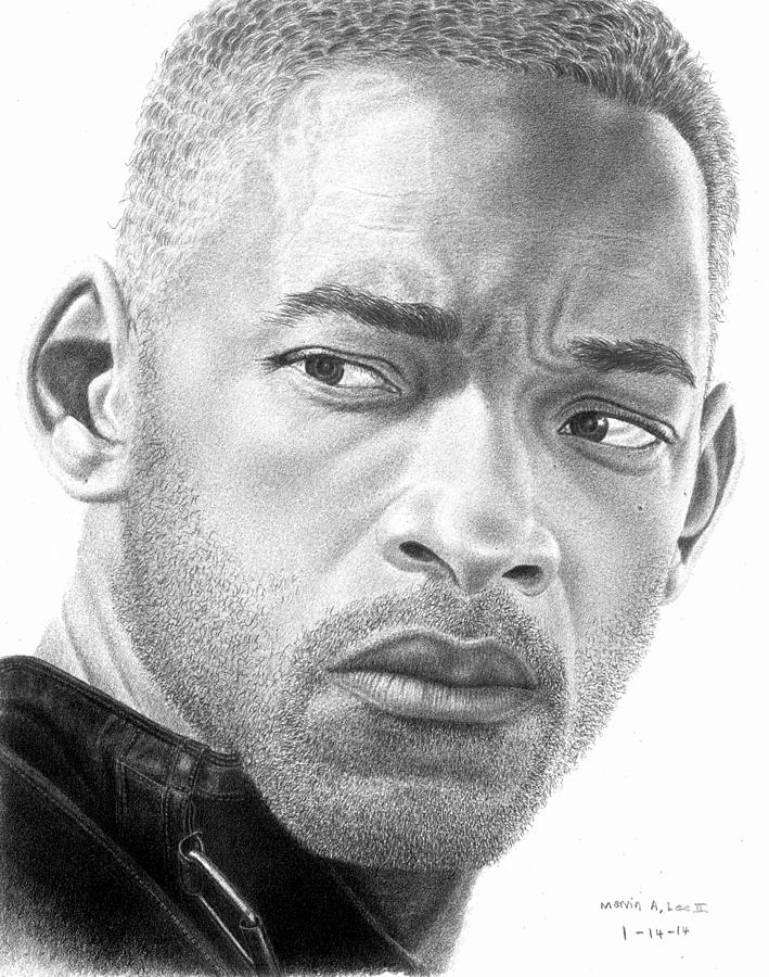 Will Smith Drawing