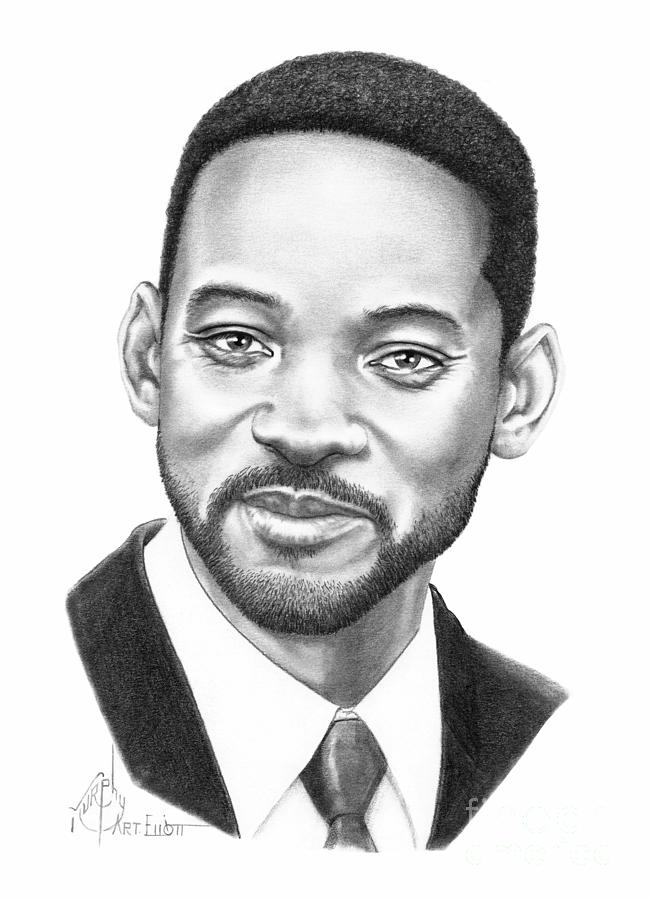 Will Smith is a drawing by Murphy Elliott which was uploaded on ...