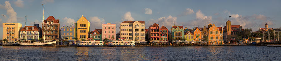 Willemstad Curacao Panoramic Photograph