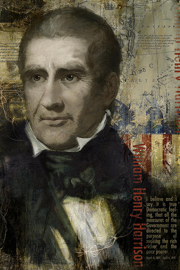 William Henry Harrison Painting - William Henry Harrison by Corporate Art Task Force