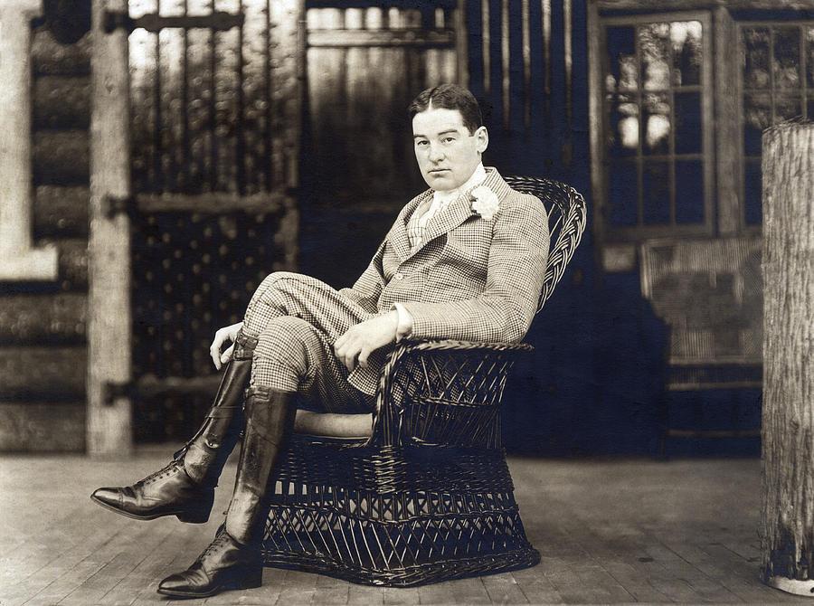 William K. Vanderbilt Photograph