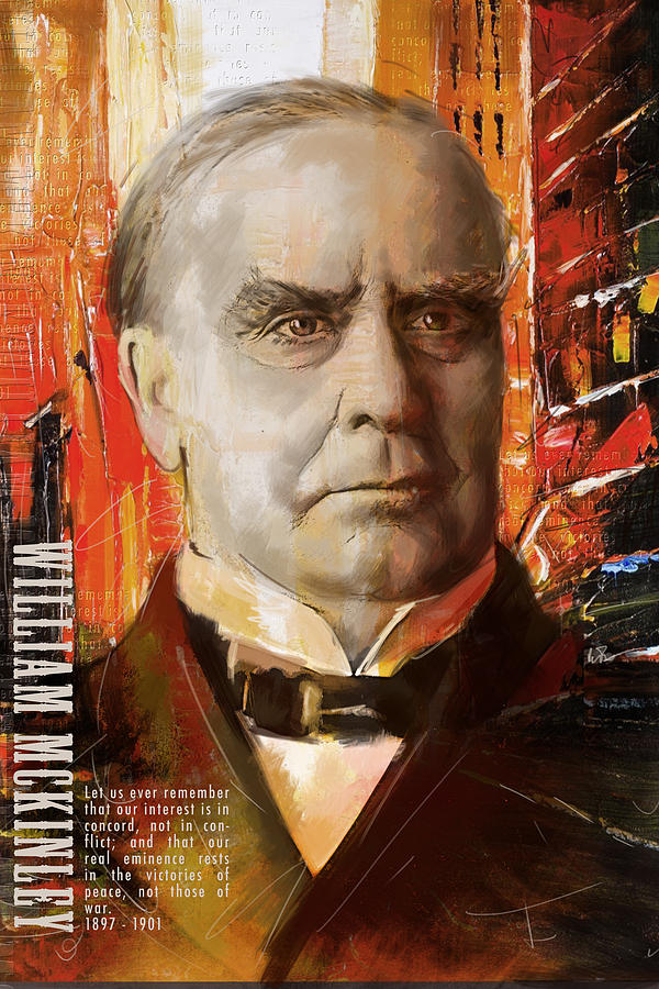 William Mckinley Painting  - William Mckinley Fine Art Print