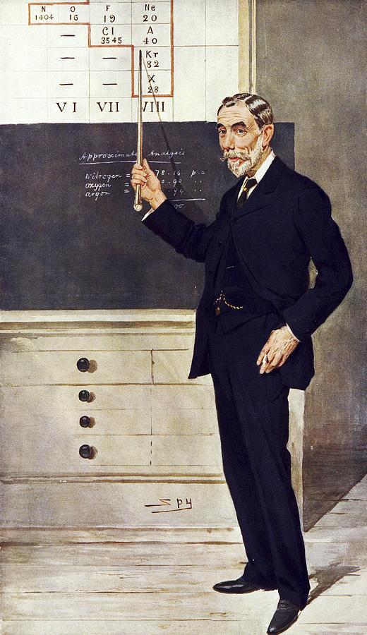 William Ramsay, Scottish Chemist Photograph