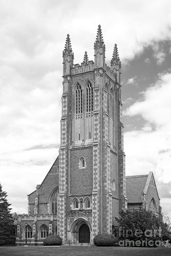 Williams College Thompson Memorial Chapel Photograph