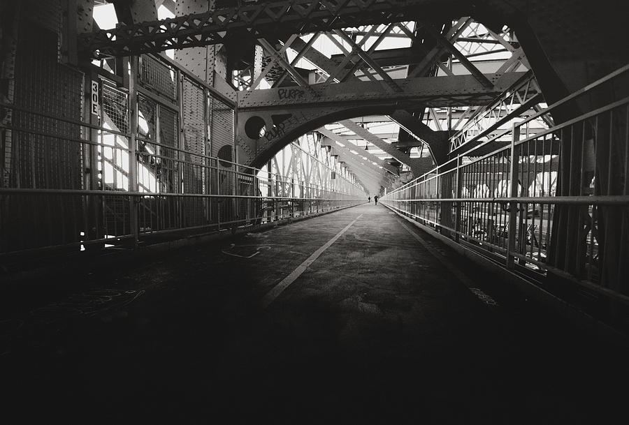 Williamsburg Bridge - New York City Photograph