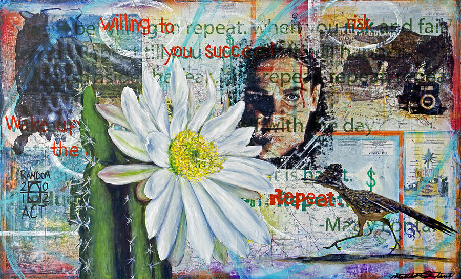 Willing To Risk You Succeed Painting  - Willing To Risk You Succeed Fine Art Print