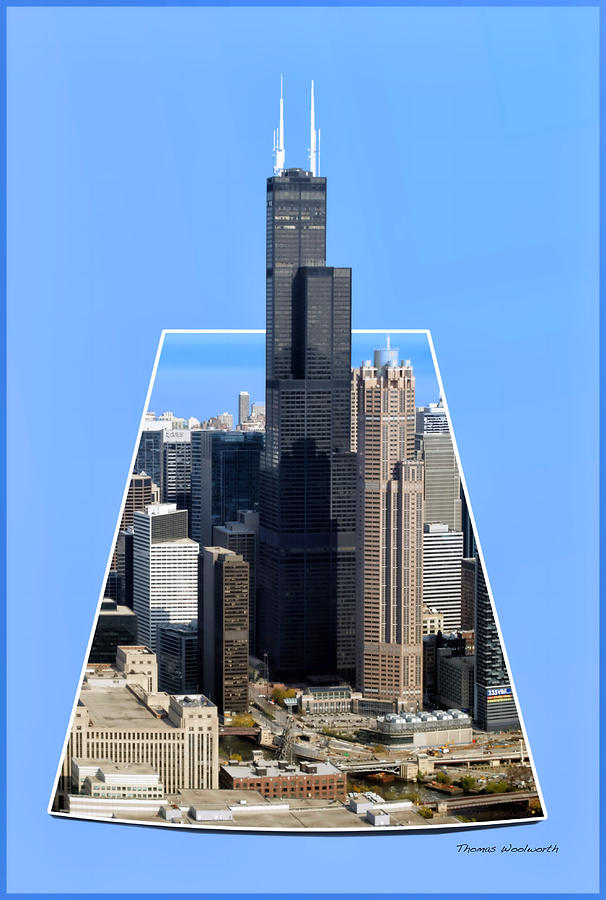 Willis Sears Tower 01b Chicago Photograph By Thomas Woolworth