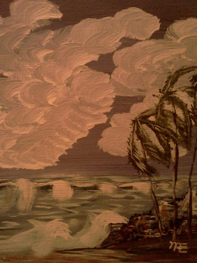 Wind And Sea Painting