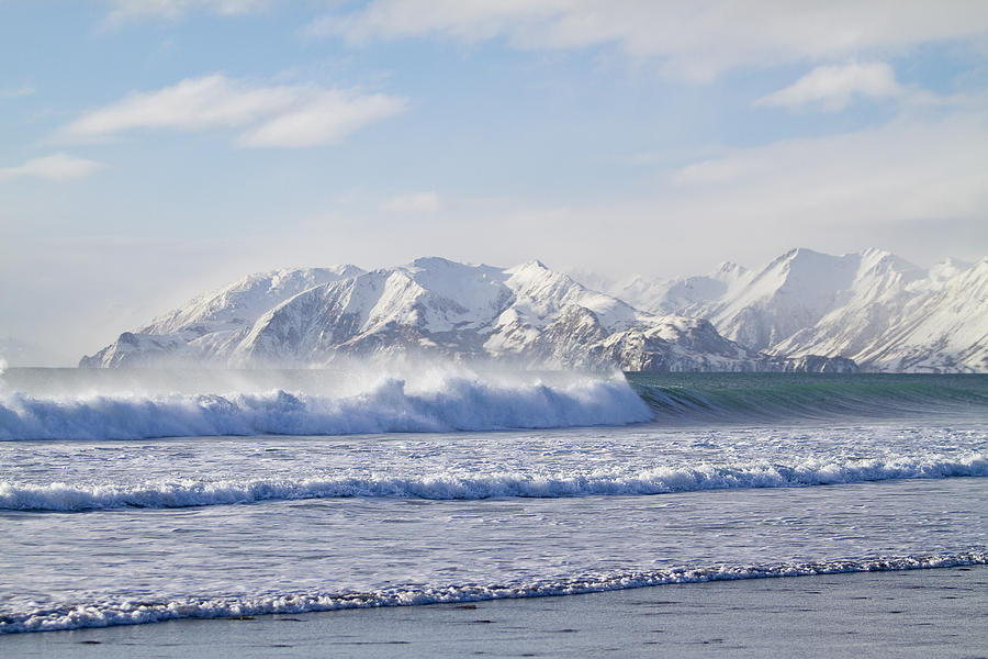 Wind And Waves On Kodiak Photograph
