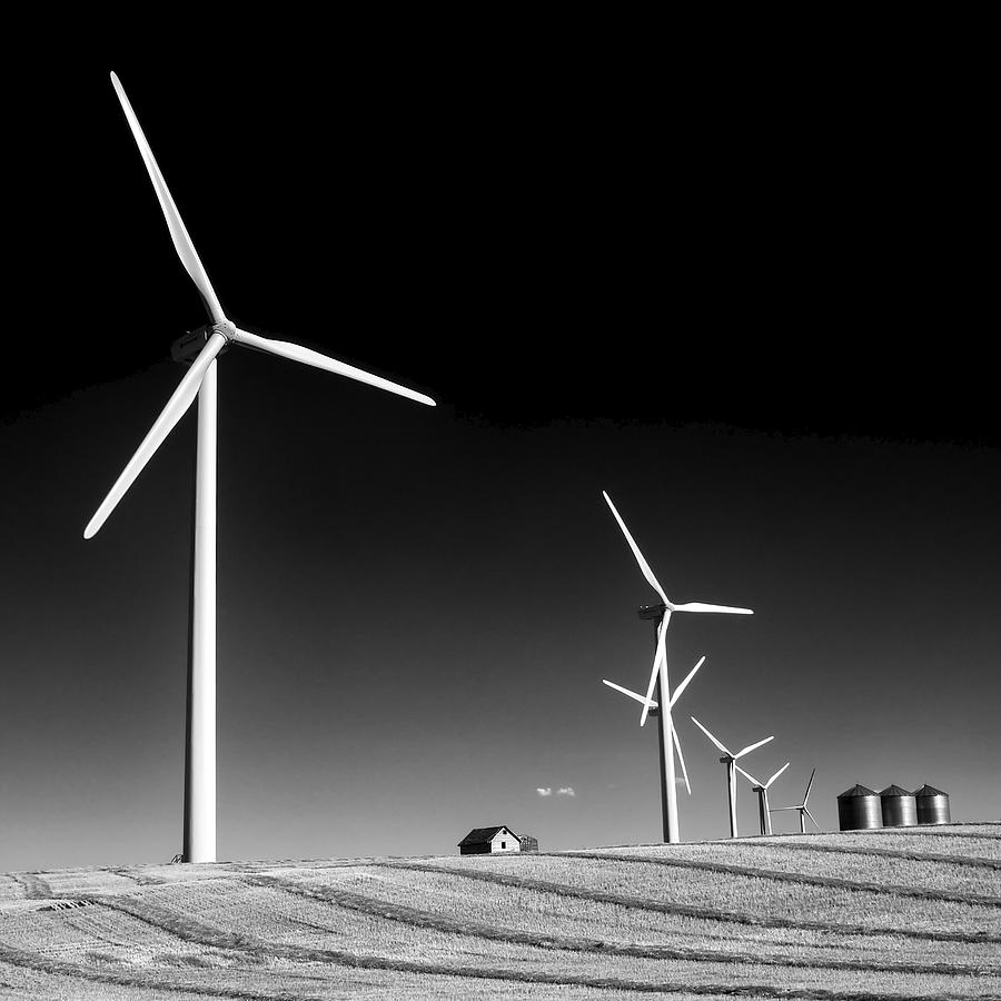 Wind Farm Photograph by Trever Miller