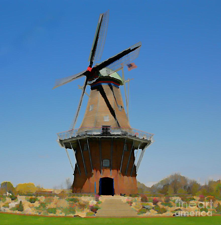 Wind Mill  Photograph  - Wind Mill  Fine Art Print