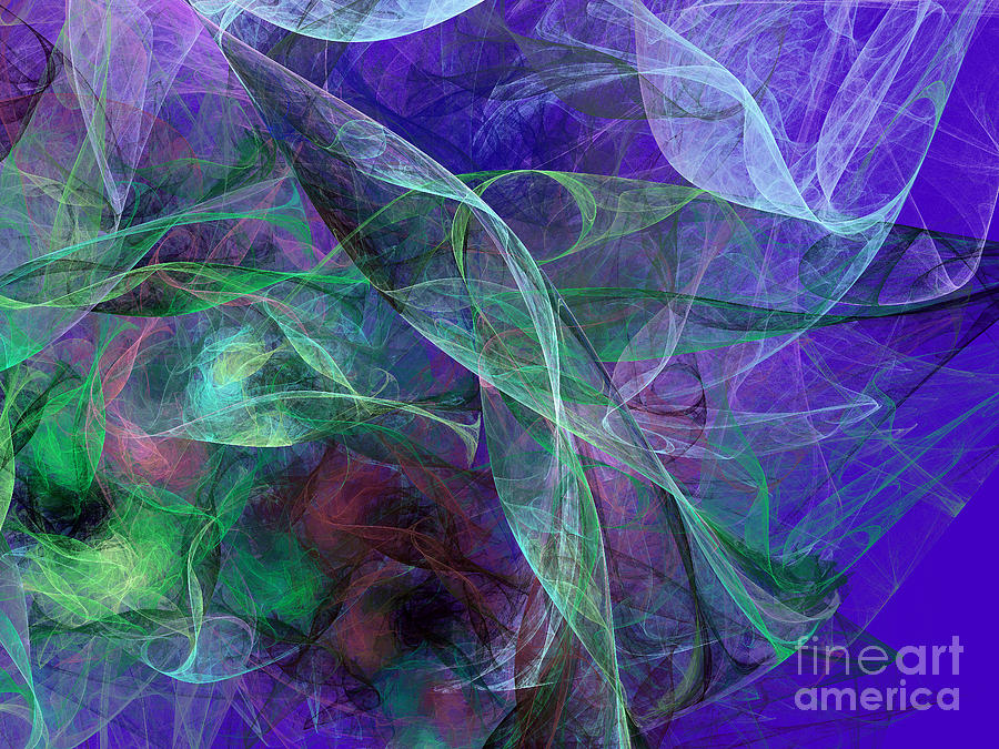 Wind Through The Lace Digital Art