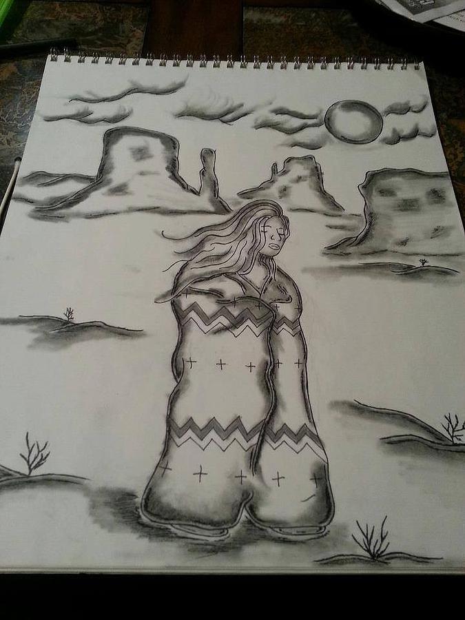 Wind Walker Drawing