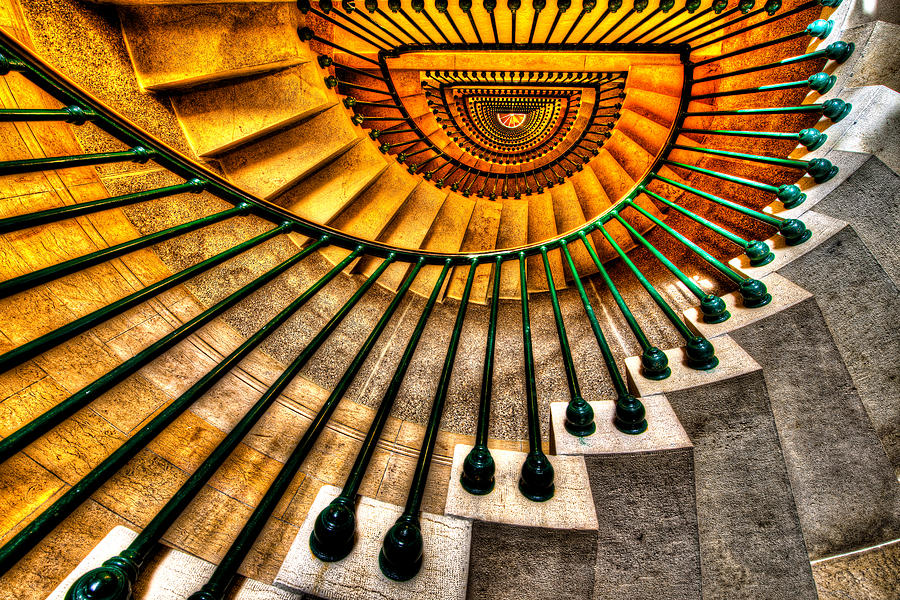 Architecture Photograph - Winding Up by Chad Dutson