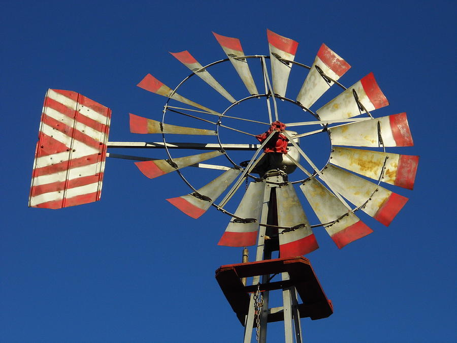 Windmill Close Up Photograph