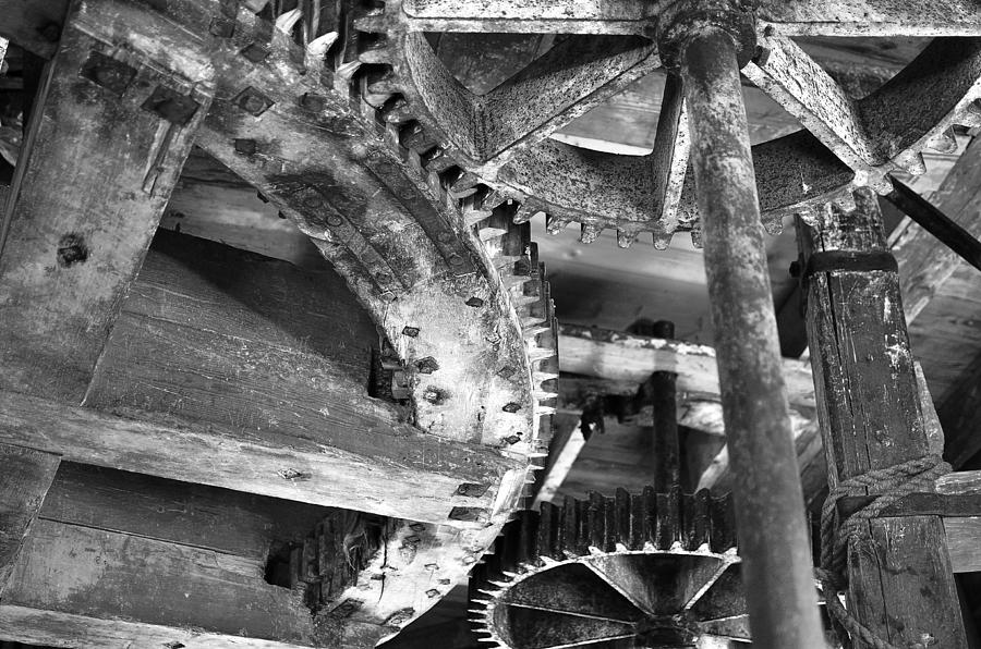 Windmill Wheels Photograph  - Windmill Wheels Fine Art Print