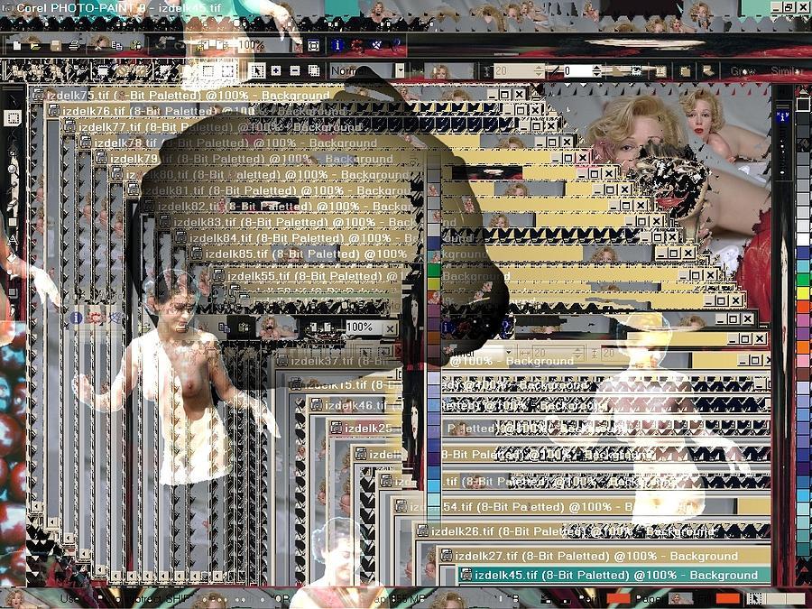 Netart Digital Art Digital Art - Window 201 by Teo Spiller