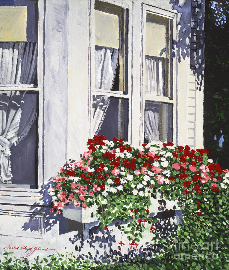 Window Box Colors Painting