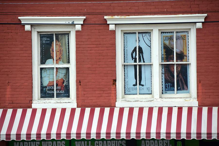 window dressing photograph by john schneider