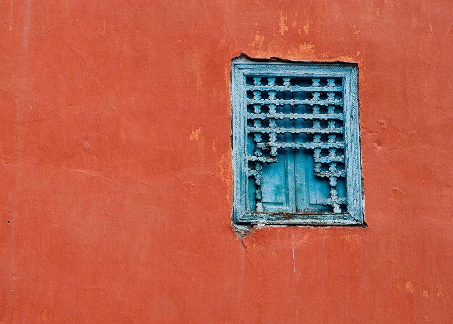 Window In Marrakesh Photograph  - Window In Marrakesh Fine Art Print