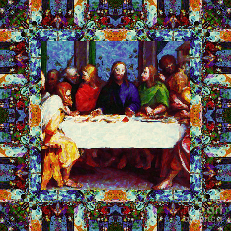 Window Into The Last Supper 20130130p0 Photograph