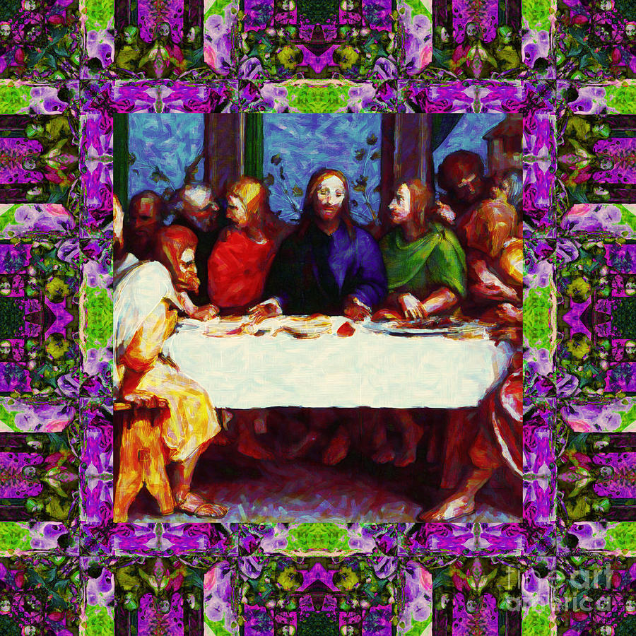 Window Into The Last Supper 20130130p68 Photograph