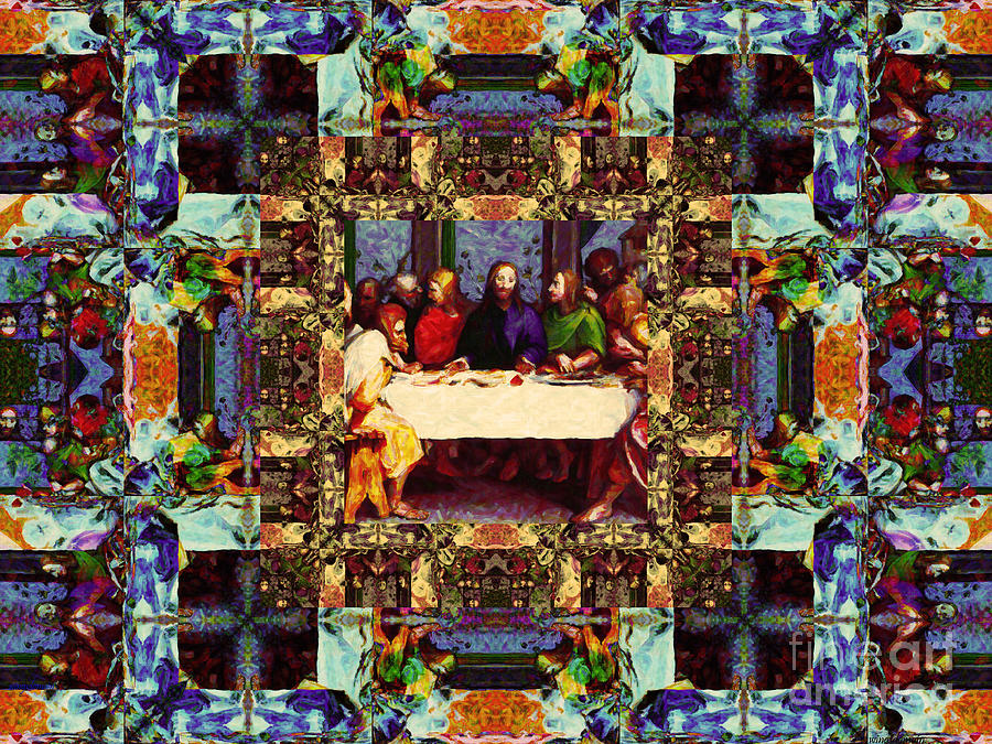 Window Into The Last Supper 20130130v2-horizontal Photograph
