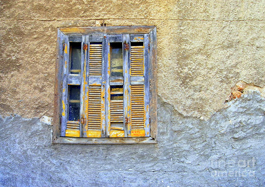 Window Nafplio Photograph  - Window Nafplio Fine Art Print