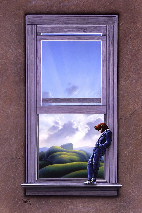 Window Of Dreams Painting