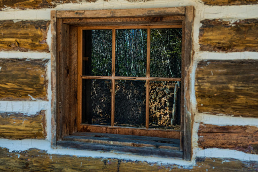Window Reflection Photograph  - Window Reflection Fine Art Print